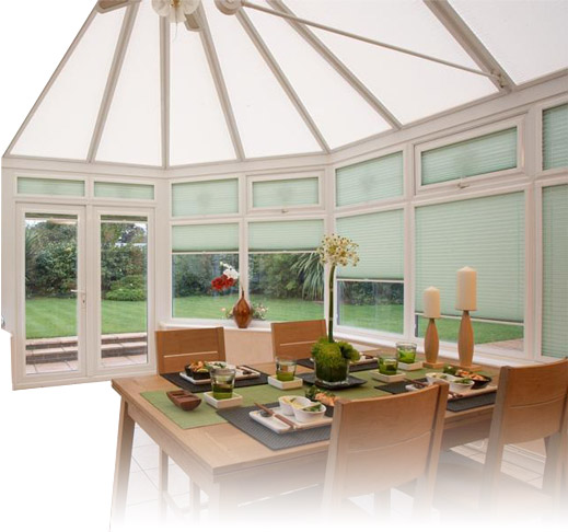 Conservatory roof blinds Hampshire