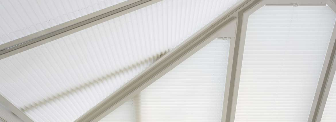 Conservatory privacy blinds