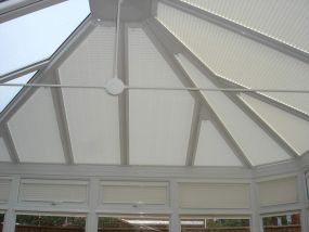 Pleated conservatory blinds in Derby 3 - Conservatory Roof Blinds