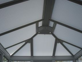 Roof window blinds for Eltham sunroom 1 - Conservatory Roof Blinds