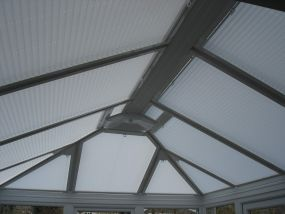 Roof window blinds for Eltham sunroom 2 - Conservatory Roof Blinds