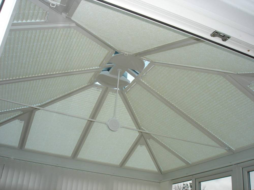 Conservatory Roof Blinds Photo Gallery
