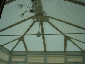 Fitted conservatory roof blinds, London 2 - Conservatory Roof Blinds