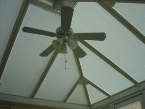 Blinds for sun room in Middlewich 1 - Conservatory Roof Blinds