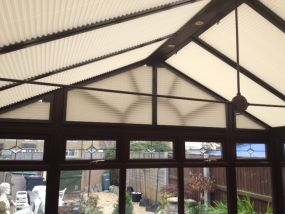 Gable end conservatory blinds - Conservatory Roof Blinds
