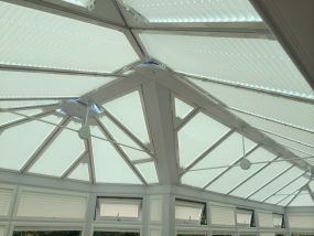 Leicester conservatory blinds to create some shade - Conservatory Roof Blinds