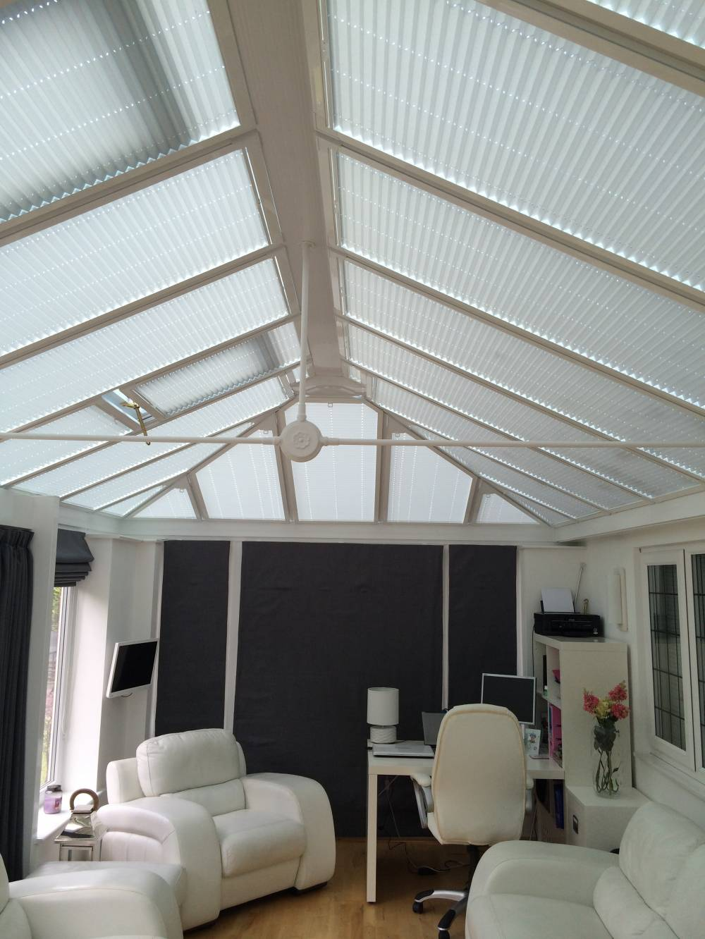 Conservatory roof blinds photo gallery for Beauty salons in manchester