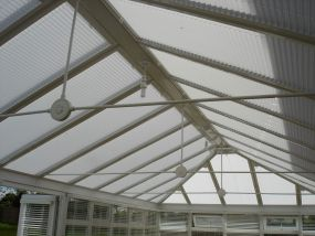 Complete array of blinds for Sheffield conservatory 2 - Conservatory Roof Blinds
