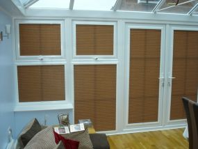 Side blinds for Dorset conservatory 2 - Conservatory Roof Blinds