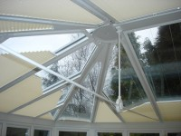 Conservatory blinds fitted for Leeds customer