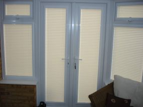 Sideblinds for conservatory doors and windows, Chelmsford 1 - Conservatory Roof Blinds