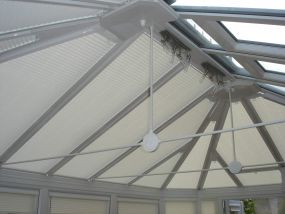 Pleated conservatory blinds in Derby 2 - Conservatory Roof Blinds