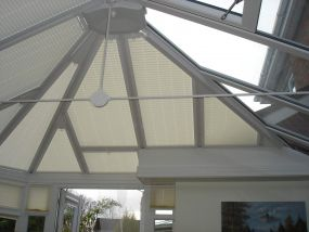 Pleated conservatory blinds in Derby 4 - Conservatory Roof Blinds