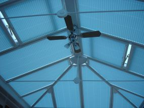 Creating more shade in this Hunstanton conservatory - Conservatory Roof Blinds