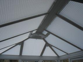 Roof window blinds for Eltham sunroom 2 - Conservatory Roof Blinds