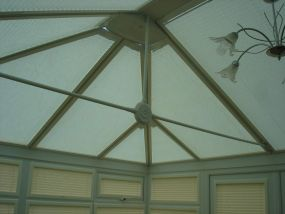 Fitted conservatory roof blinds, London 1 - Conservatory Roof Blinds