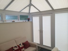 Bristol roof and door blinds and side blinds - Conservatory Roof Blinds