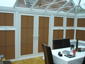 Side blinds for Dorset conservatory 1 - Conservatory Roof Blinds